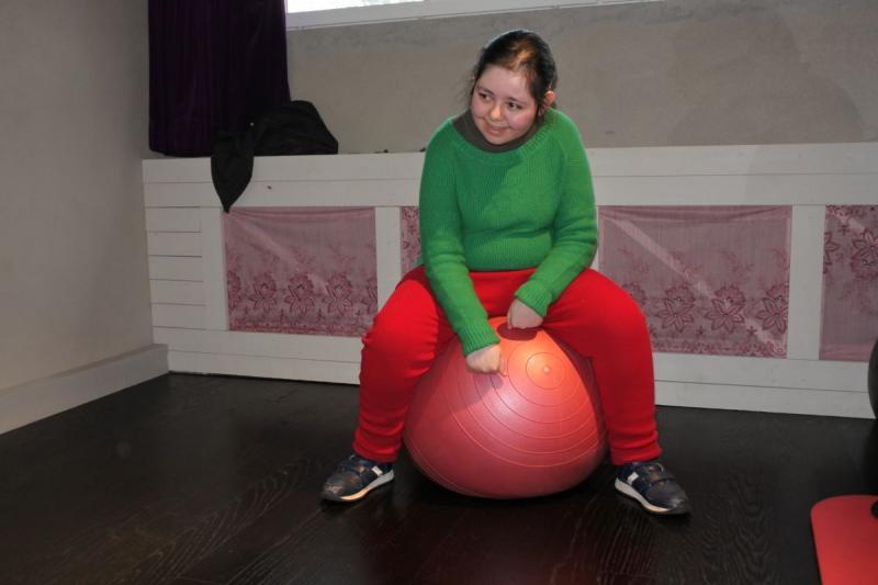 Traning-Pilatesboll