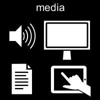 Pictogrambild: Media
