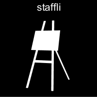 Pictogrambild: Staffli